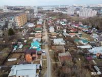 Вид сверху на улицу Островского