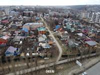 Вид сверху на улицу Лермонтова