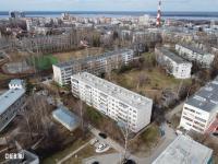 Вид сверху на дома по Московскому проспекту