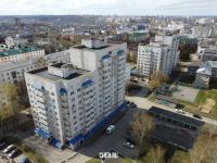 Вид сверху на высотки по пр. Ленина