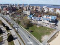 Вид сверху на Московский проспект