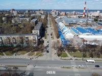 Вид сверху на улицу Тимофея Кривова