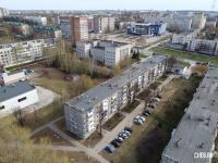 Вид сверху на ул. 50 лет Октября 10