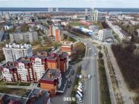 Вид сверху на улицу Гагарина
