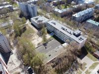 Вид сверху на машиностроительный факультет ЧГУ