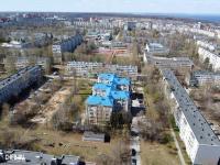 Вид сверху на ул. Гузовского 13А