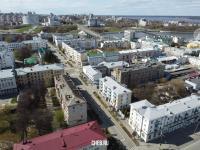 Вид сверху на улицу Дзержинского