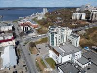 Вид сверху на ул. Ярославская