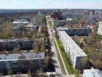 Вид сверху на улицу Мичмана Павлова
