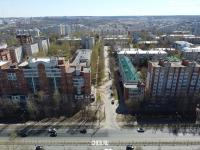 Вид сверху на улицу Спиридона Михайлова