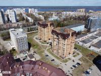 Вид сверху на 19-е дома по Московскому проспекту