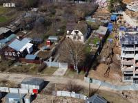 Крайние частные дома на улице Герцена