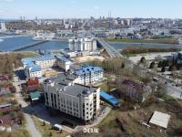Вид сверху на улицу Нижегородская 2 корп. 1