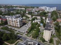 Вид сверху на район улицы Грасиса