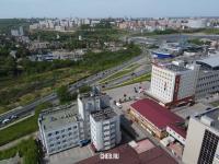 Вид сверху на район Президентского бульвара