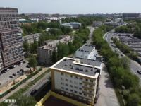 Вид сверху на ул. Петрова 6к1