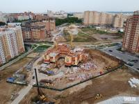 Строительство детского сада в микрорайоне Университет-2