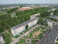 Вид сверху на ул. Совхозная 4