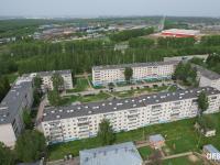 Вид сверху на ул. Совхозная 10