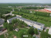 Вид сверху на ул. Совхозная 1