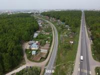 Вид сверху на улицу Пристанционная