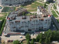 Вид сверху на ул. Мате Залка 13