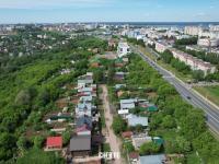 Вид сверху на улицу Усадская