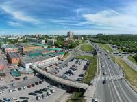 Сферическая панорама: Центральный рынок, Президентский бульвар