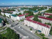 Пересечение проспекта Ленина и улицы Николаева