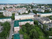 Вид сверху на пр. Ленина 24