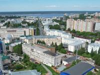 Вид сверху на пр. Ленина 2