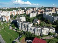Вид на дома по улице Лебедева