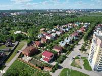 Вид сверху на улицы Кочетова и Лунная