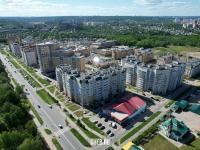Микрорайон на улице Гладкова