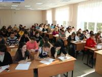 Лекция в аудитории Е-412