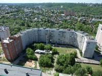 Вид сверху на двор дома ул. Короленко 18