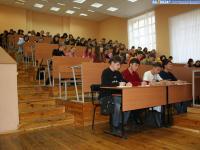 Лекция в поточной аудитории Е-100