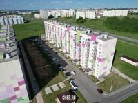 Двор дома ул. Челомея 1