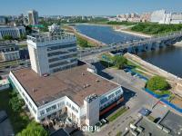 Вид сверху на Дом мод и Московский проспект