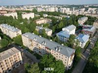 Вид сверху на ул. Анисимова 4