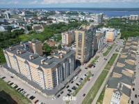 Вид сверху на микрорайон Благовещенский
