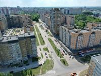 Вид сверху на улицу Базарная