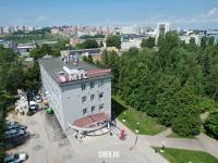 Вид сверху на Центральный офис МТС