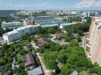 Вид сверху на улицу Электрозаводская