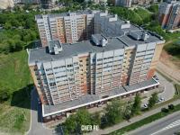 Вид сверху на ул. Николая Рождественского 1