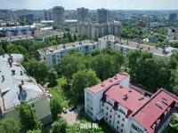 Вид сверху на район ХБК
