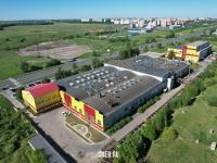 Вид сверху на завод силовых агрегатов
