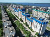 Вид сверху на Максима Горького 33