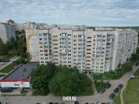 Вид сверху на ул. Лебедева 3
