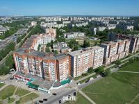 Вид сверху на дома по улицам Ленинского Комсомола и Пролетарская